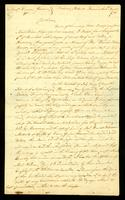 [Letter from Saml. Chase to Messrs. Vernon & Gardner]