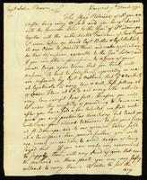 [Letter from S & W Vernon to Capt. John Brown]