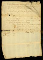 Petition of John Gibbes, Esq.