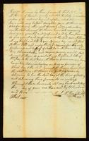 [Bill of Sale between Samuel McThain and the daughter of Samuel McThain]