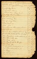 Inventory of the Estate of Jeremiah Turner