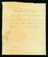 [Bill of sale for a slave named Simon]