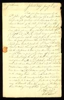 [Letter from Robt. Elliott to Messrs. Vernon & Mason]
