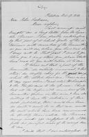 [Manuscript copy of letter from Gerrit Smith to John Cochrane]