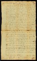 [Legal Document relating to the lawsuit of Jesse Richardson regarding the sale of the female slave Pegge]