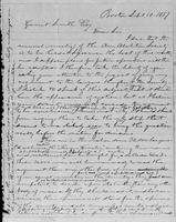 [Letter and envelope from Lysander Spooner to Gerrit Smith]