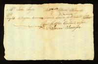 [Bill of sale for a slave named Louisa]