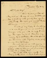 [Letter from Gerrit Smith to Theodore D. Weld]