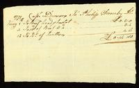[Receipt for beef from Philip Gowerby]