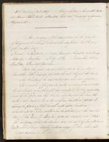 Vol. 1, minutes of the August 12, 1837 and September 8, 1837 board meetings.