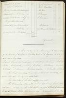 Vol. 1, minutes of the April 13, 1838 board meeting [continued]; minutes of the May 11, 1838 board meeting.
