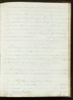Vol. 1, minutes of the August 14, 1840 board meeting [continued].
