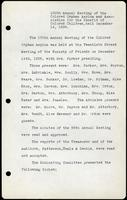 Vol. 14, minutes of the December 14, 1936 annual meeting of the Association.