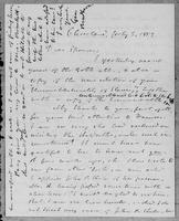 [Letter from Geo. Bradburn to Spooner]