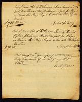 [Receipt for wages paid to John Vickery, Joseph Lester, and Abel Geers]