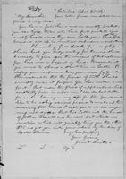 [Manuscript copy of letter from Gerrit Smith to Lysander Spooner]