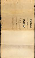 Deed and mortgage document for the Bradhurst Avenue property in Washington Heights, from Guiditta Cavinato to the Colored Orphan Asylum, dated August 9, 1895, cover.