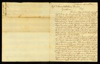 [Manuscript copy of letter from Gabriel Manigault to Messrs. Samuel & William Vernon]