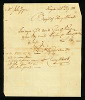 [Bill of sale for three slaves named Grace, Nancy, and Stephen]
