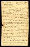[Letter from Rich'd. Adams to Messrs. Saml. & Wm. Vernon and Thos. Taylor]