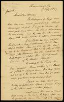 [Letter from Lewis Tappan to T. D. Weld]