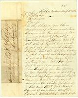 [Letter from John Wimbish Young to E. H. Stokes]