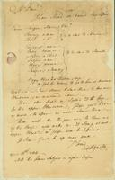 Miles Brenton's letter dated 12th April 1766