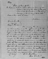 [Manuscript copy of four documents on one sheet in the hand of Lysander Spooner]