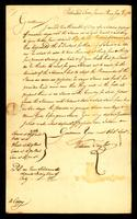 [Manuscript copy of letter from William Taylor to Messrs. William Vernon & Company]