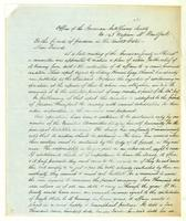 A. S. Circular from the Decade meeting Dec. 1843, American A. S. Soc.