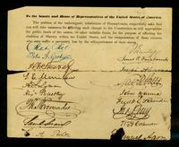 [Petition by inhabitants of Pennsylvania for effecting change in the Constitution for the abolition of slavery]