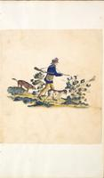 [Unnumbered], [Drawing of a hunting scene]