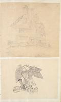 [Unnumbered], [Drawing of a farm house and American National emblem]