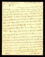 [Letter from Rd. Adams to Messrs. Samuel & Wm. Vernon]