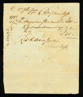 [Bill of sale for a slave named Tom]