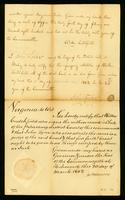 [Certificate of judgment of the case of Phillis against Benjamin Tucker]