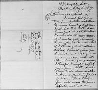 [Manuscript copy of a letter from Lysander Spooner to Daniel McFarland]