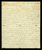 [Letter from J. Wood to Messrs. Gardner & Dean]