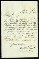 [Letter from William Goodell to L. Spooner]