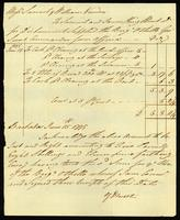 [Receipt for disbursements supplied to the Brig Othello by Samuel and James King]