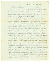[Letter from Ellis Gray Loring to Andrew Robeson]