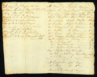 Seamen Accounts 1762, Settled & Paid