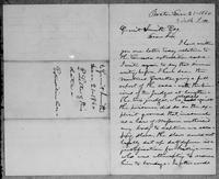 [Letter from L. Spooner to Gerrit Smith]