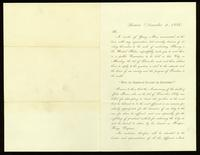 Printed letter from James Redpath to Lysander Spooner