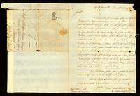 [Letter from Saml. Sanford to Messrs. W. Vernon & Co.]