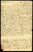 [Letter from S. W. V. to Mr. Cornel. Durant, Jr.]