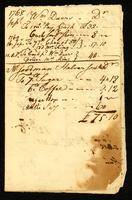 [Account book for the crew of an unnamed vessel]