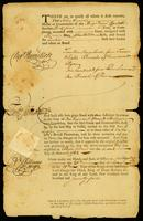 [Bill of lading for the Brig Royal Charlotte]