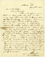 [Letter from J. J. Price to E. H. Stokes]