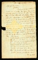 [Letter from Thomas White to Messrs. Gardner & Dean]
